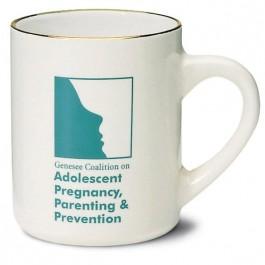 Almond 10 oz Almond Ceramic Coffee Mug