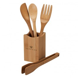 Bamboo Bamboo Kitchen Utensil Set