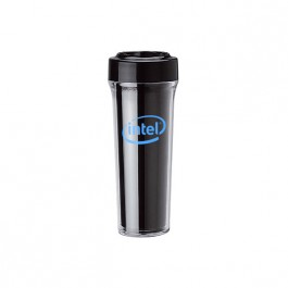 Black 14 oz. Silver Shield Antimicrobial Tumbler