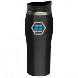 Black 16 oz. Sydney Travel Tumbler