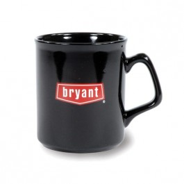 Black 10 1/2 oz Sparta Ceramic Coffee Mug