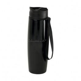 Black 16 oz Engraved Companion Vacuum Travel Tumbler