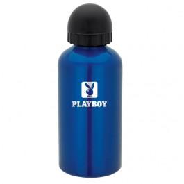 Blue 500ml Aluminum Domed Pull-Top Sports Bottle