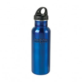 Blue 24oz. Engraved Stride Water Bottle