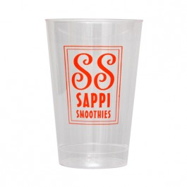 Clear 12 oz Hard Plastic Cup