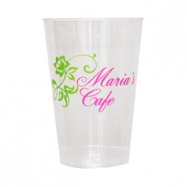 Clear 14 oz Hard Plastic Cup