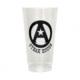 Clear 16 oz Hard Plastic Cup
