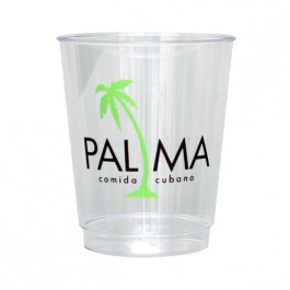 Clear 8 oz Hard Plastic Cup