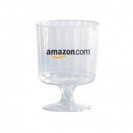 Clear 5 oz Plastic Wine Glass