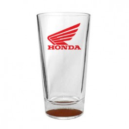 Clear 16oz Colored Football Sport Pint Glass