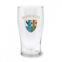 Clear 20 oz Pub Beer Glass