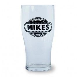 Clear 16 oz Tory Beer Glass
