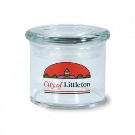 Clear 15 oz Cylinder Glass Candy Jar