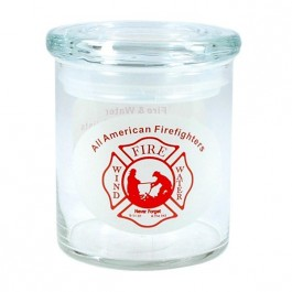 Clear 22 oz Cylinder Glass Candy Jar