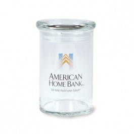 Clear 31 oz Cylinder Glass Candy Jar