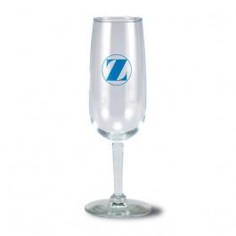 Clear 6 1/4 oz Citation Glass Champagne Flute