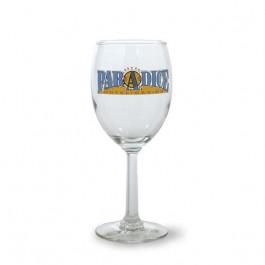 Clear 10 1/4 oz Napa Glass Wine Goblet