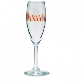 Clear 5 3/4 oz Napa Glass Champagne Flute