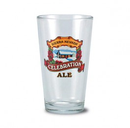 Clear 16 oz Brewery Pint Beer Glass