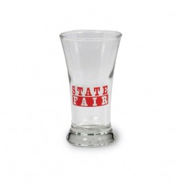 Clear 2 1/2 oz Glass Flare Shooter