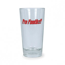 Clear 16 oz Football Sports Cooler Glass