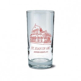 Clear 12 1/2 oz Beverage Glass