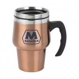 Copper 14 oz Roadster Copper Finish Travel Mug