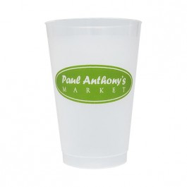 Frosted 14 oz Shatterproof Cup