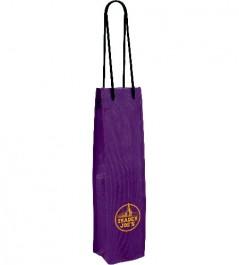 Grape Non-Woven Single Wine Bottle Bag