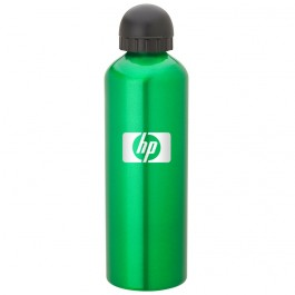 Green 1L Aluminum Domed Pull-Top Sports Bottle