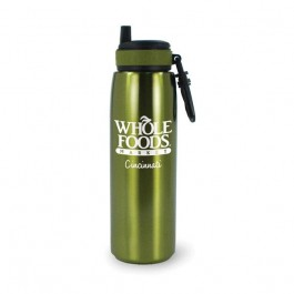 Green 26 oz Quench Stainless Steel Tumbler Water Bottle