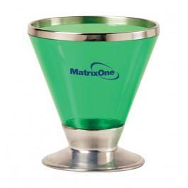 Green 7 oz Fusion Martini Glass