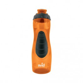 Orange / Black 28 oz Long-n-Lean Easy-Grip Water Bottle