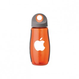 Orange / Gray 20 oz. Tritan Fitness Water Bottle
