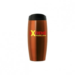 Orange 12 oz. Stainless Steel Contoured Tumbler