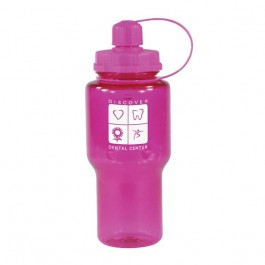 Pink 22 oz Travelmate Water Bottle