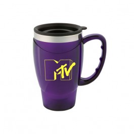Purple 18 oz. Large Handle Mug