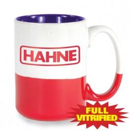 Red / White / Blue 13 1/2 oz Varsity Patriotic Vitrified Ceramic Coffee Mug
