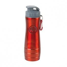 Red / Gray 26oz Engraved Action Water Bottle
