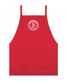 Red Kitchen Apron