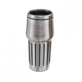 Stainless / Black 15 oz Engraved Quest Stainless Steel Tumbler