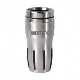Stainless / Black 15 oz Engraved Techno Tumbler