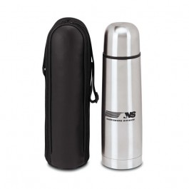 Stainless 16.9 oz. Thermo Vacuum Bottle with Case