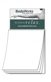 White Magna-Pad Business Card BLANK Sheet