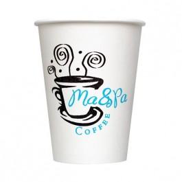 White 12 oz Paper Cup