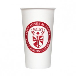 White 20 oz Paper Cup