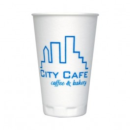 White 16 oz Trophy Cup