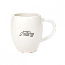 White 16 oz NY Fat Boy Ceramic Coffee Mug