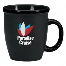 Black 12 oz. Duo Texture Coffee Mug