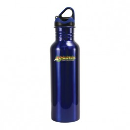 Blue 24 oz Stainless Quest Water Bottle (Full Color)
